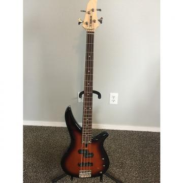 Custom Yamaha RBX170 4-String Bass Guitar W/Case Tobacco Burst