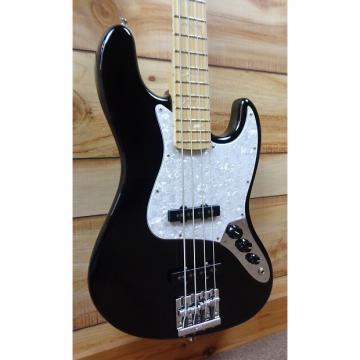 Custom New Fender® USA Geddy Lee Jazz Bass® Maple Fingerboard Black w/Case