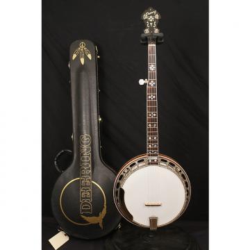 Custom Deering Golden Era 5 string flathead banjo all original Made in USA with original case