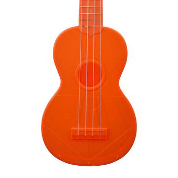 Custom Waterman by Kala Ukulele (Gloss - Fluorescent Orange)