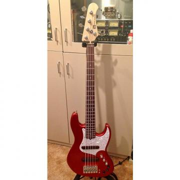 Custom Xotic XJ-1T 5 String 2013 Candy Red