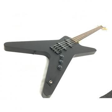 Custom Dean Metalman Bass Black W/Hard Shell Case