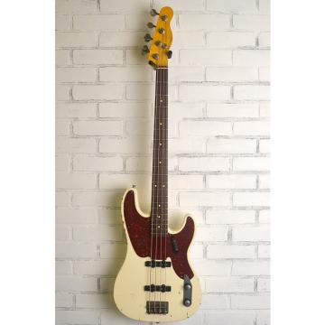 Custom Nash P/J 68 Jazz Bass Prototype 2017 Olympic White