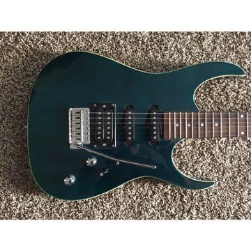 Custom 2010's  S101  Cool Transparent Green / Blue Strat