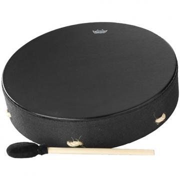 "Custom Remo Buffalo Drum - Black Earth, 16"""