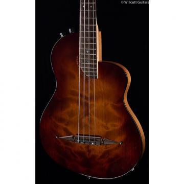 Custom Rick Turner Renaissance RB-4 Bass Redwood Burst USED (492)