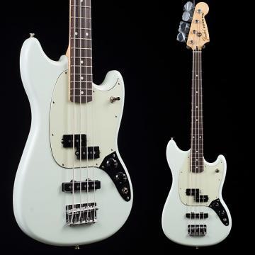Custom Fender Mustang Bass PJ Sonic Blue 3283