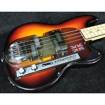 Custom Hayman 4040 Bass.  1973. Sunburst