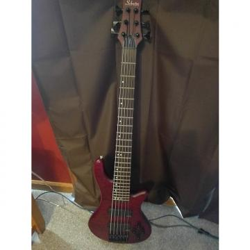 Custom Schecter Stilleto Custom-6 Bass Guitar