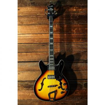 Custom Hagstrom Viking Bass 2016 Tobacco Sunburst