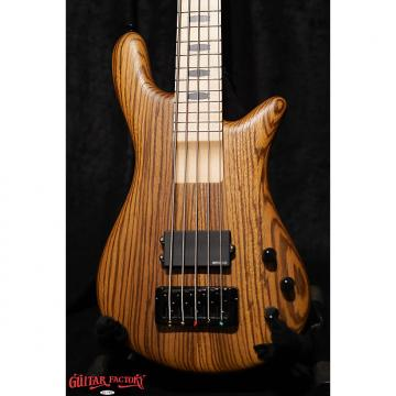 Custom Spector ReBop5 MM Zebrawood Natural Satin