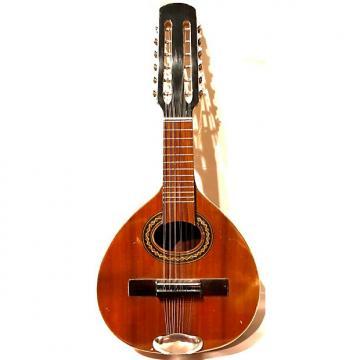 Custom Vintage Handmade Bandurria 12-Sting Mandolin Bandurria F-2