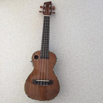 Custom RipTide Concert Ukulele EUC-5NG A/E Mahogany Mint