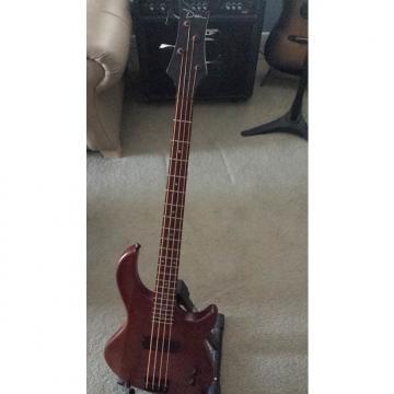 Custom Dean Edge 4 String Bass (used) Dark Walnut