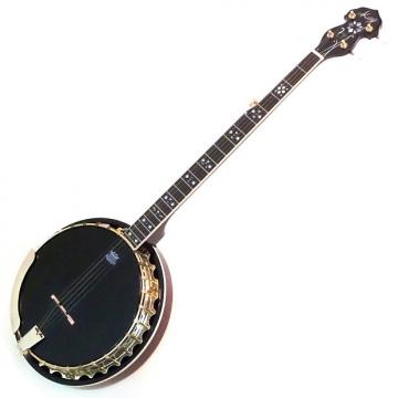 "Custom Kay KBJ100 30-Bracket Deluxe ""Golden Liberty"" 5 String Banjo"