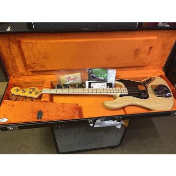 Custom Fender Vintage 74' Jazz Bass Re-issue 2013 Natural