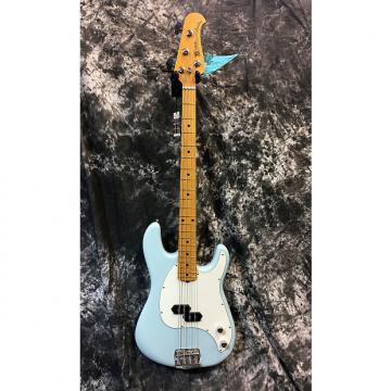 Custom Brand New Ernie Ball Music Man Cutlass Bass 2017 Diamond Blue w/Hardcase