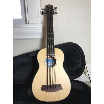 Custom Kala U-Bass Acoustic/Electric Satin Solid Spruce
