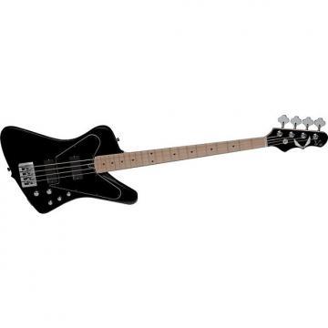 Custom Dean John Entwistle Hybrid 4 String Bass Guitar (Black/Black)