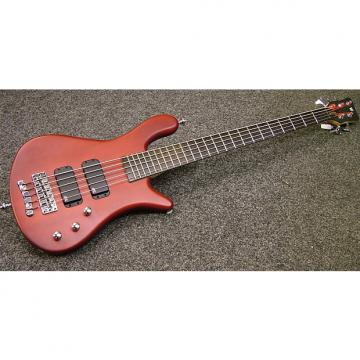 Custom Warwick Streamer Rock bass V 2014 Satin Red