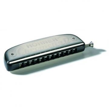 Custom Hohner Chrometta 12 Harmonica in the key of G