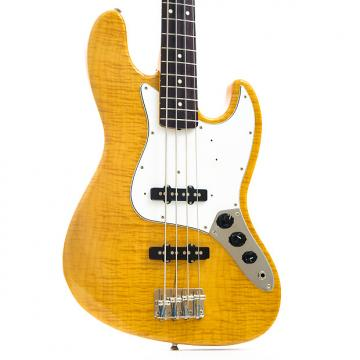 Custom Fender Japan '62 Reissue Foto Flame Jazz Bass 1995