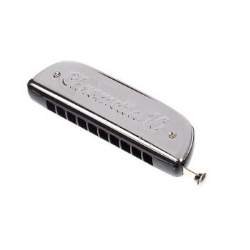 Custom Hohner  Chrometta 10 Harmonica in the key of C