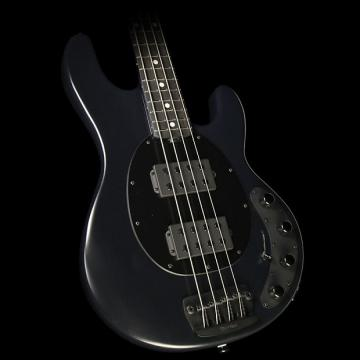 Custom Ernie Ball Music Man StingRay Neck Through Electric Bass Guitar HH Stealth Black