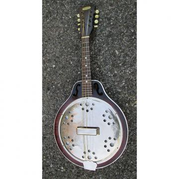 Custom RARE Vintage '30s Harmony Faux Resonator Mandolin ! GREAT CONVERSION POTENTIAL!!