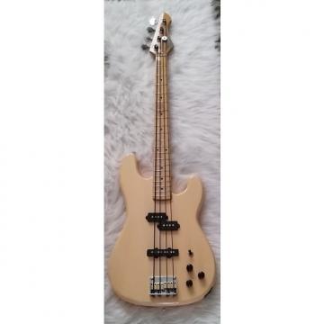 Custom C.F. Martin Stinger Bass 1980's Cream