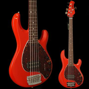 Custom Ernie Ball Music Man StingRay5 Neck-Through Chili Red