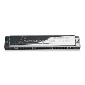 Custom Suzuki SU21H Humming Tremolo Harmonica keyed in D Minor