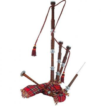 Custom High Quality Bagpipe bellows with tartan pattern Arnold Stölzel