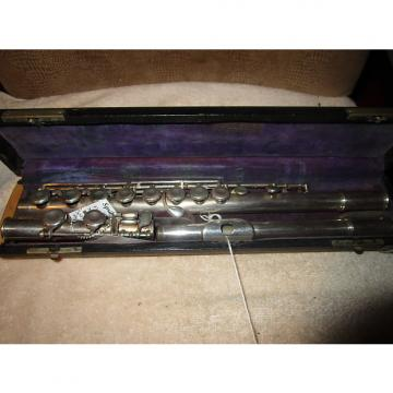 Custom vintage National student flute AS IS For parts or repair project