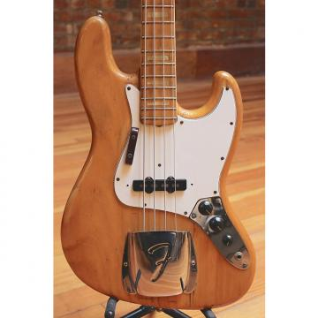 Custom Fender Jazz Bass 1975 Natural