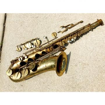 "Custom Beaugnier Vito ""DUKE"" Tenor Saxophone for parts repair France Sax Vintage Paris"
