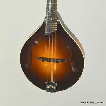 Custom Collings MT-L Left Handed A Model Mandolin, Engelmann Spruce, Maple