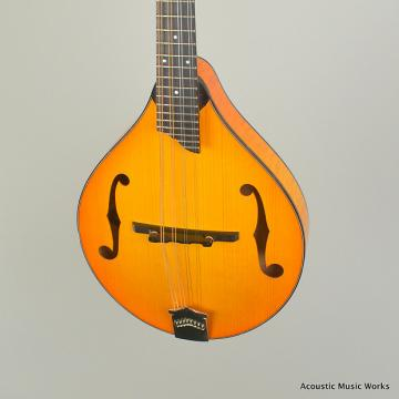 Custom Collings MT2 Mandolin, Tangerine Burst, One-Piece Back, Adirondack Top