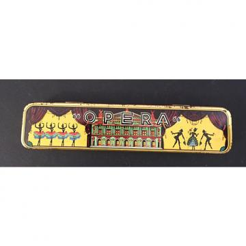 Custom opera harmonica 66 opera harmonica 1950's-1960's? Chrome