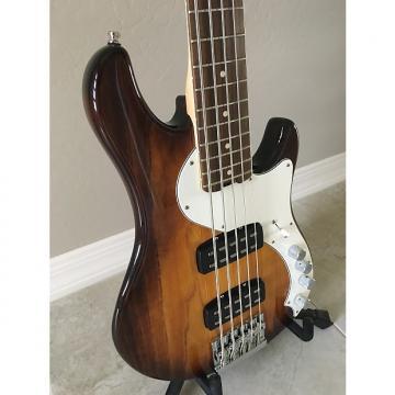 Custom Fender American Elite Dimension Bass V HH Violin Burst