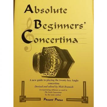 Custom NEW Absolute Beginners Concertina Paperback Booklet Mel Bay AX101 by Mick Bramich