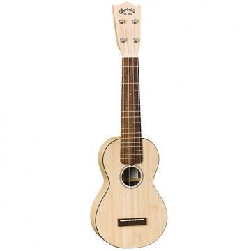 Custom Martin 0X Uke Bamboo Soprano Ukulele with Gigbag - Natural