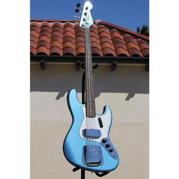 Custom Fender 1 of 46 '64 Jazz Bass 2013 Lake Placid Blue w/ Matching Headstock