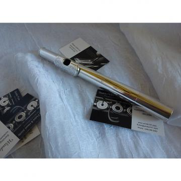 Custom Drelinger Free Flow Gold Air Reed Max Flute head joint