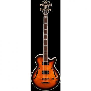 Custom D'Angelico Excel Bass Antique Vintage Sunburst