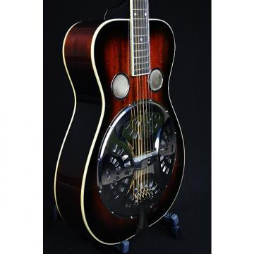 Custom Recording King RR-50 Roundneck Resonator Guitar 2016 Vintage Sunburst