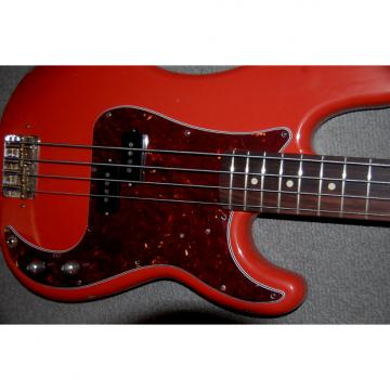 Custom Fender Precision Bass Fiesta Red