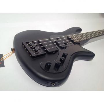 Custom Schecter Stiletto Stealth 4 with UPGRADED KSM Foundation Bass Bridge