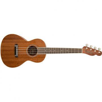 Custom Fender Ukulele Hauoli Mahogany Laminate Tenor Uke Telecaster Headstock + Gig Bag