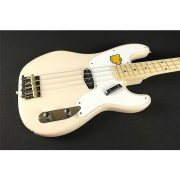 Custom Squier Classic Vibe Precision Bass '50s - Maple Fingerboard - White Blonde (222)